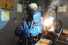 Welder at ATF Center